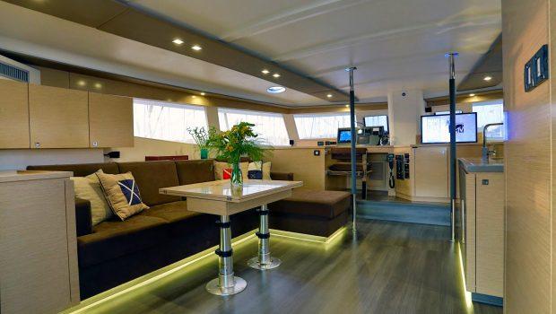 highjinks catamaran salon (2) -  Valef Yachts Chartering - 2434