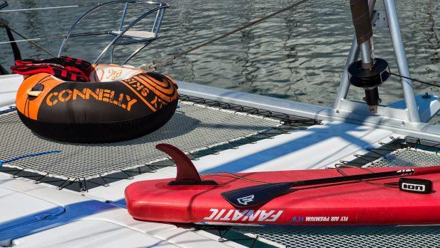 highjinks catamaran sea toys (1) -  Valef Yachts Chartering - 2419