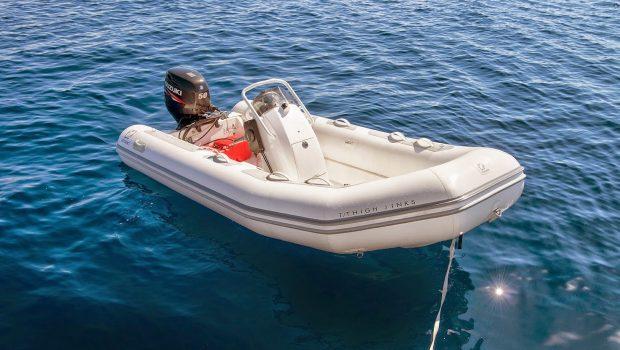 highjinks catamaran tender -  Valef Yachts Chartering - 2416