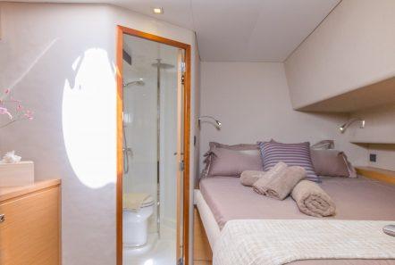 highjinks ii catamaran cabins and bath (4) min -  Valef Yachts Chartering - 2383
