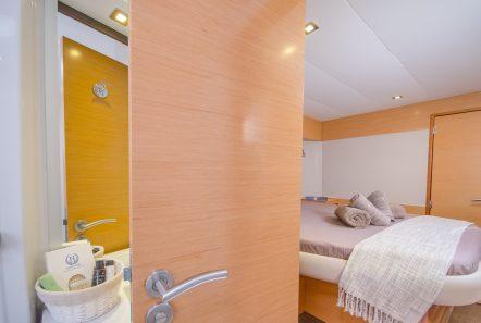 highjinks ii catamaran cabins and bath (6) min -  Valef Yachts Chartering - 2381