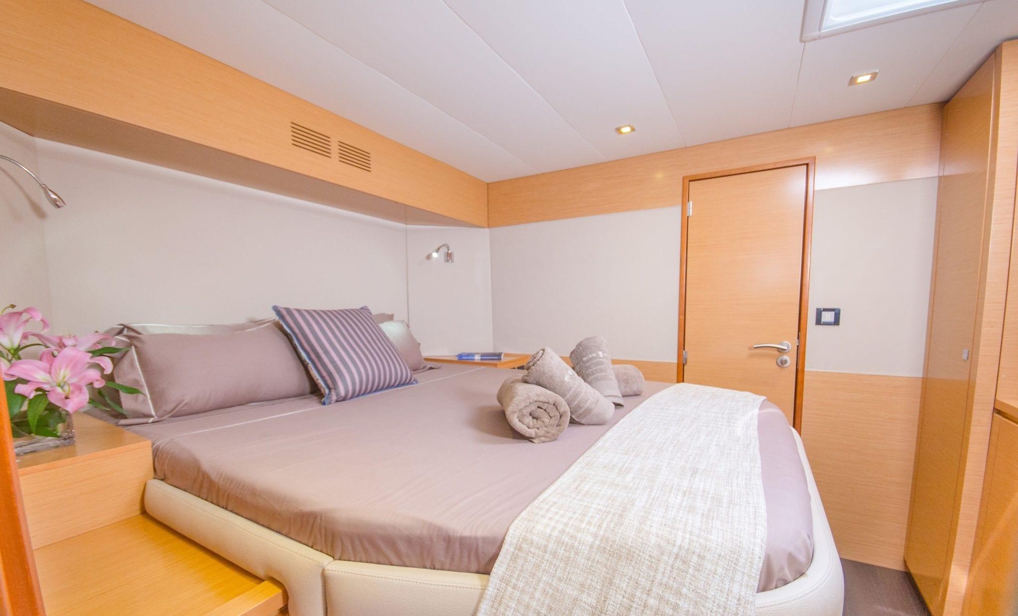 highjinks ii catamaran cabins and bath (7) min -  Valef Yachts Chartering - 2400
