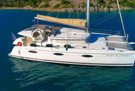 highjinks ii catamaran exteriors (5) min -  Valef Yachts Chartering - 2396