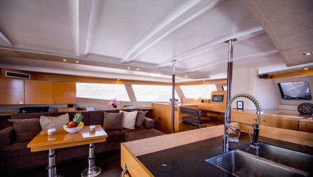 highjinks ii catamaran salon (11) min -  Valef Yachts Chartering - 2389