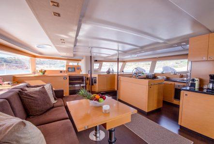 highjinks ii catamaran salon (4) min -  Valef Yachts Chartering - 2393