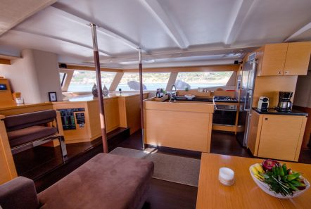 highjinks ii catamaran salon (5) min -  Valef Yachts Chartering - 2392