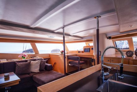 highjinks ii catamaran salon (8) min -  Valef Yachts Chartering - 2391