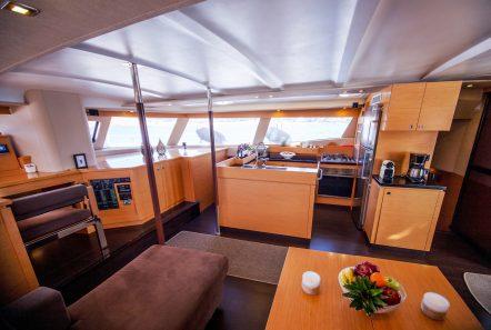 highjinks ii catamaran salon (9) min -  Valef Yachts Chartering - 2390