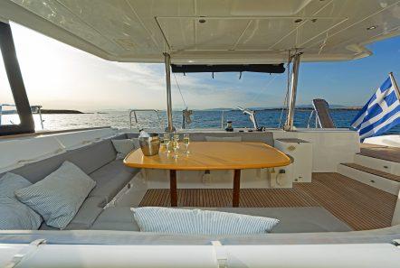 idea catamaran aft deck (1) min -  Valef Yachts Chartering - 1831