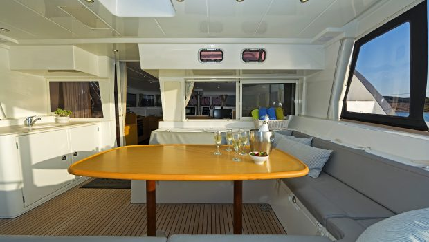 idea catamaran aft deck (2) min -  Valef Yachts Chartering - 1830