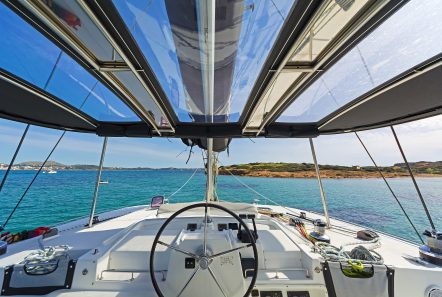 idea catamaran deck (1) min -  Valef Yachts Chartering - 1856