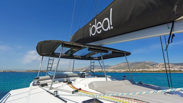 idea catamaran deck (7) min -  Valef Yachts Chartering - 1850