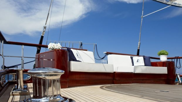 iraklis l motor sailer aft couch (1) min -  Valef Yachts Chartering - 1787