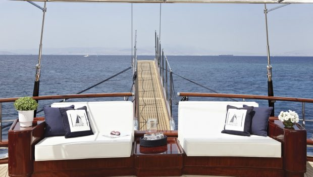 iraklis l motor sailer aft couch (2) min -  Valef Yachts Chartering - 1786