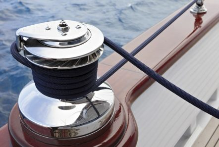iraklis l motor sailer detail deck min -  Valef Yachts Chartering - 1779