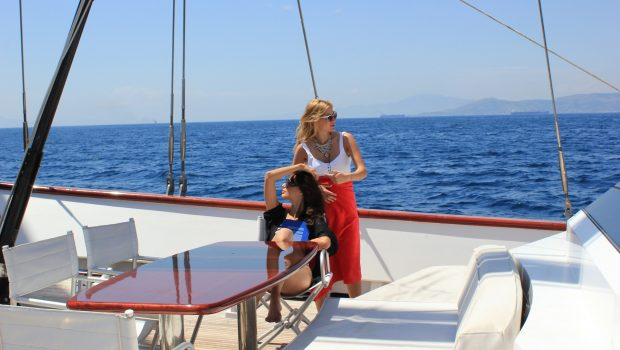 iraklis l motor sailer fore (5) min -  Valef Yachts Chartering - 1764
