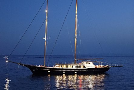 iraklis l motor sailer night min -  Valef Yachts Chartering - 1760