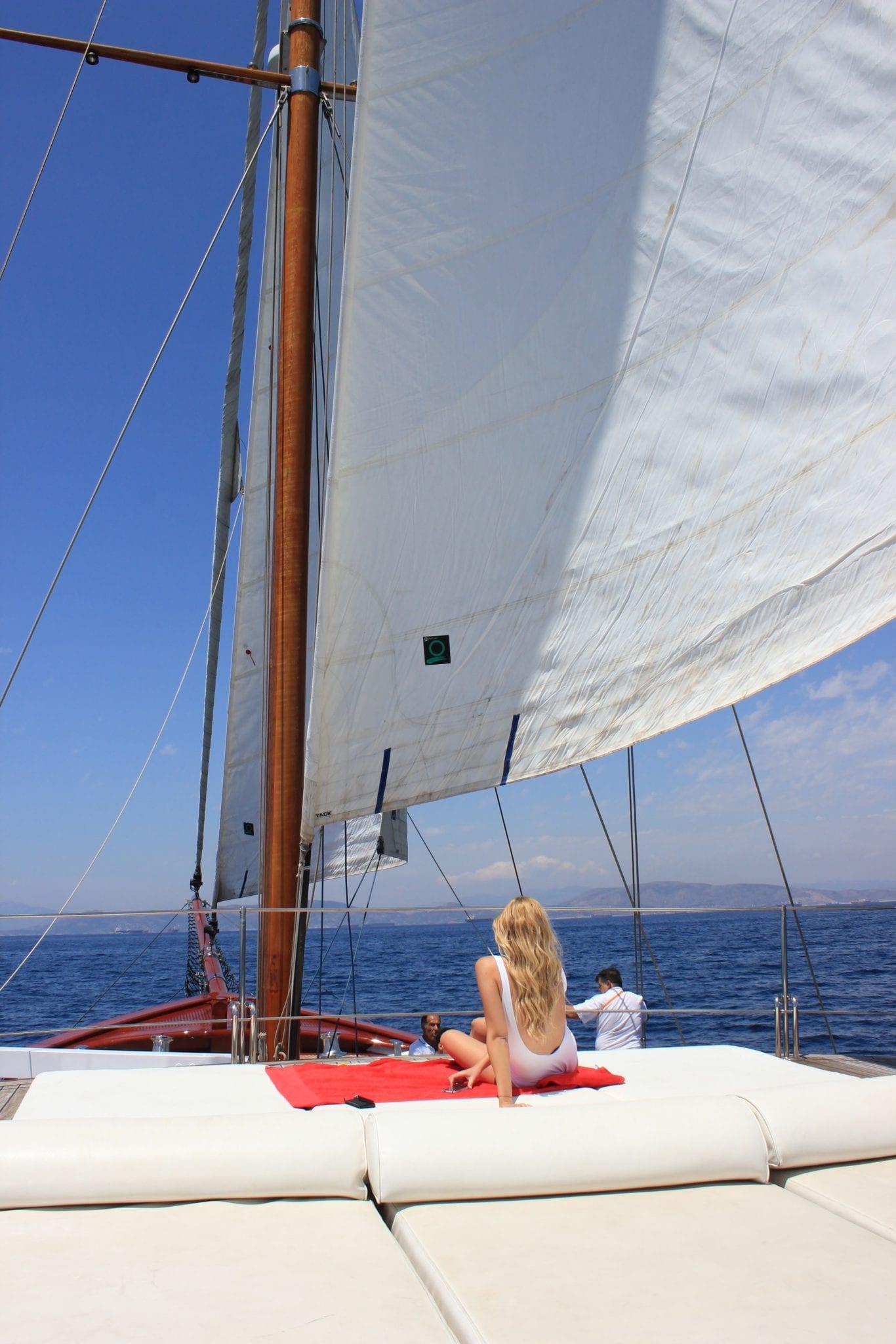 iraklis l motor sailer sails (1) min -  Valef Yachts Chartering - 1805