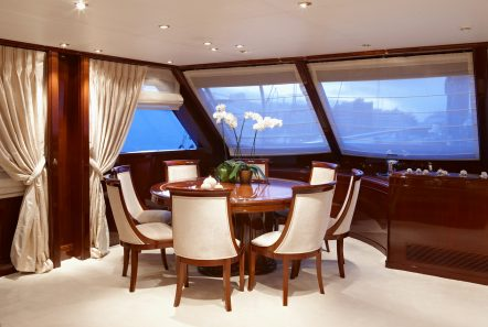 iraklis l motor sailer salon (3) -  Valef Yachts Chartering - 1758