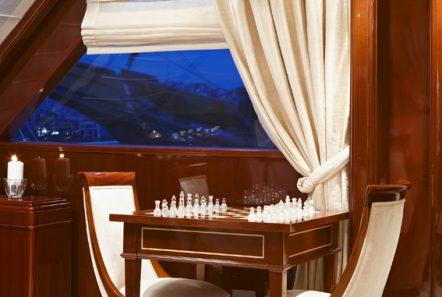 iraklis l motor sailer salon details (3) -  Valef Yachts Chartering - 1755