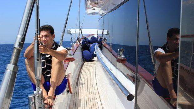 iraklis l motor sailer side min -  Valef Yachts Chartering - 1802
