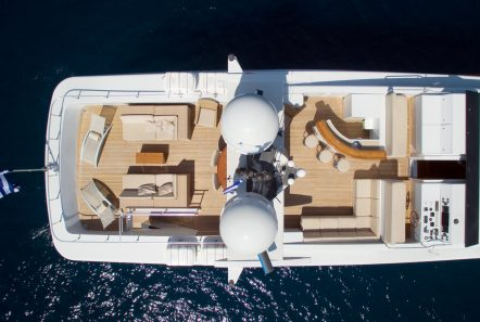 ithaki motor yacht aerial min -  Valef Yachts Chartering - 1704