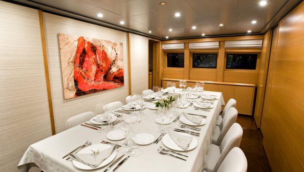 ithaki motor yacht dining min -  Valef Yachts Chartering - 1716