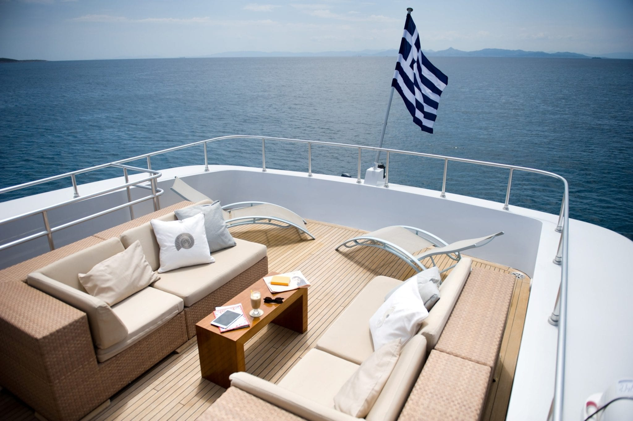 ithaki motor yacht sundeck min -  Valef Yachts Chartering - 1713