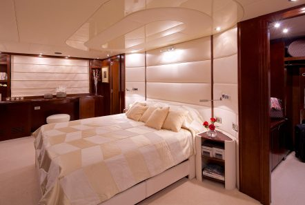 let it be motor yacht vip stateroom min -  Valef Yachts Chartering - 2488