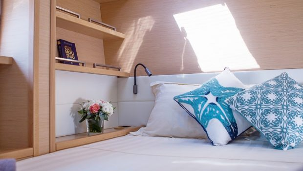 lucky clover catamaran cabins (1) -  Valef Yachts Chartering - 2452