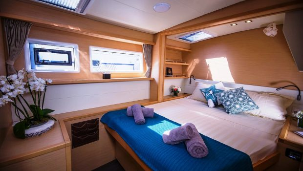lucky clover catamaran cabins (15) -  Valef Yachts Chartering - 2443