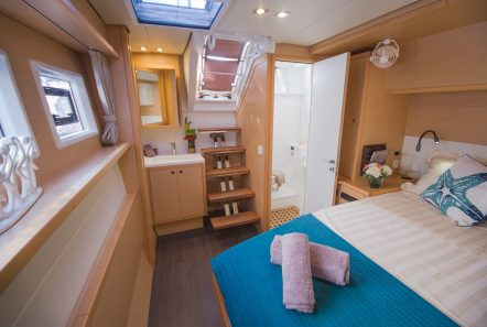 lucky clover catamaran cabins (19) -  Valef Yachts Chartering - 2487