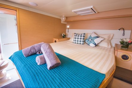 lucky clover catamaran cabins (2) -  Valef Yachts Chartering - 2451