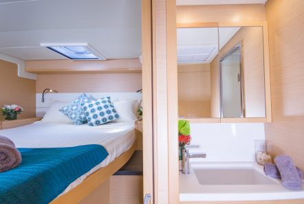 lucky clover catamaran cabins (9) -  Valef Yachts Chartering - 2446