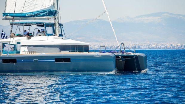 lucky clover catamaran exteriors (2) -  Valef Yachts Chartering - 2484