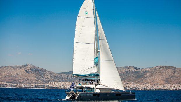 lucky clover catamaran exteriors (3) -  Valef Yachts Chartering - 2483