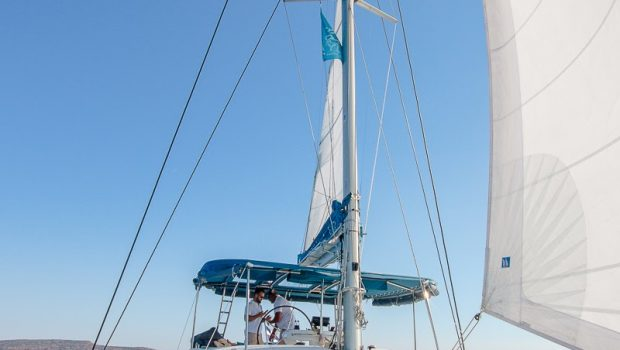 lucky clover catamaran fore (2) -  Valef Yachts Chartering - 2480