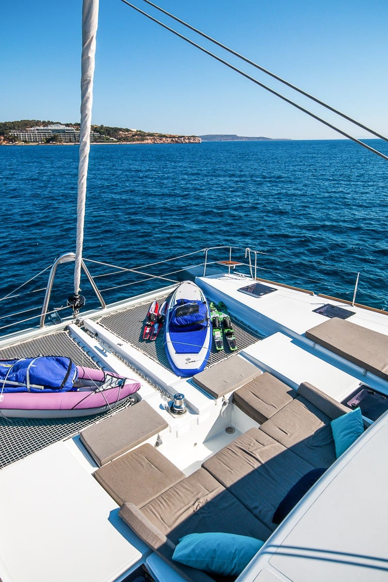 lucky clover catamaran fore (6) -  Valef Yachts Chartering - 2476