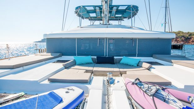 lucky clover catamaran fore (8) -  Valef Yachts Chartering - 2474