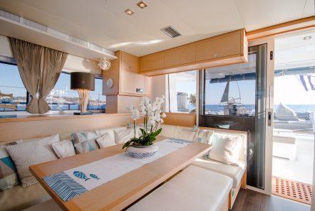 lucky clover catamaran salon (1) -  Valef Yachts Chartering - 2473