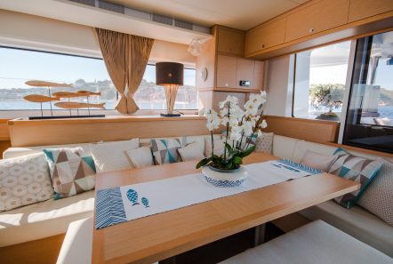 lucky clover catamaran salon (2) -  Valef Yachts Chartering - 2472