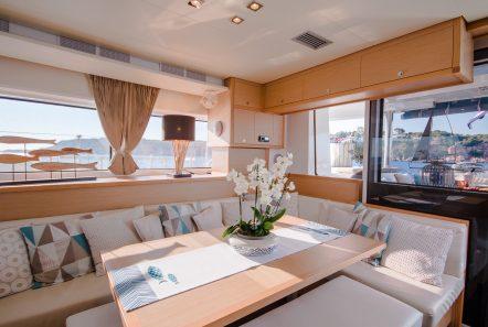 lucky clover catamaran salon (6) -  Valef Yachts Chartering - 2469