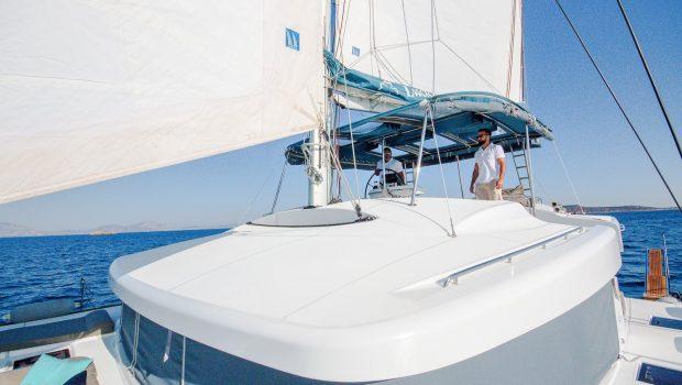 lucky clover catamaran salon sailing -  Valef Yachts Chartering - 2466