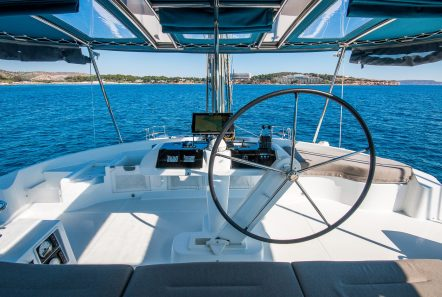 lucky clover catamaran wheel house (2) -  Valef Yachts Chartering - 2464