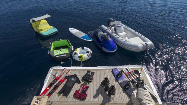mabrouk motor yacht swim platform   Copy min -  Valef Yachts Chartering - 2512
