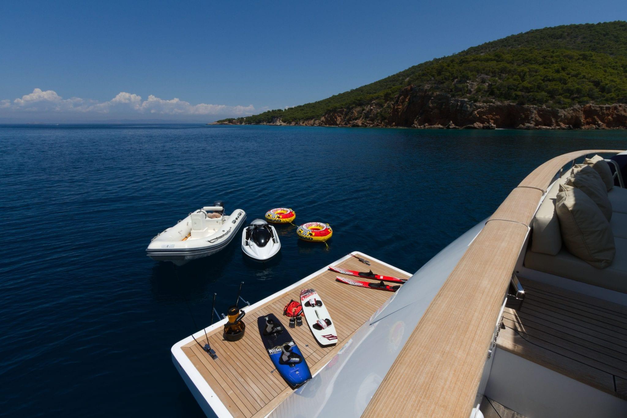 mabrouk motor yacht swim platform2   Copy min -  Valef Yachts Chartering - 2511