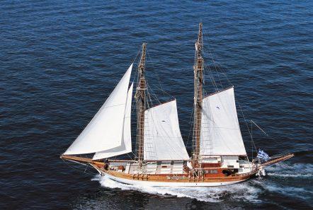 matina motor sailer gulet profiel -  Valef Yachts Chartering - 1815