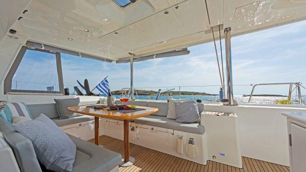 mystique catamaran  deck (2) min -  Valef Yachts Chartering - 1860