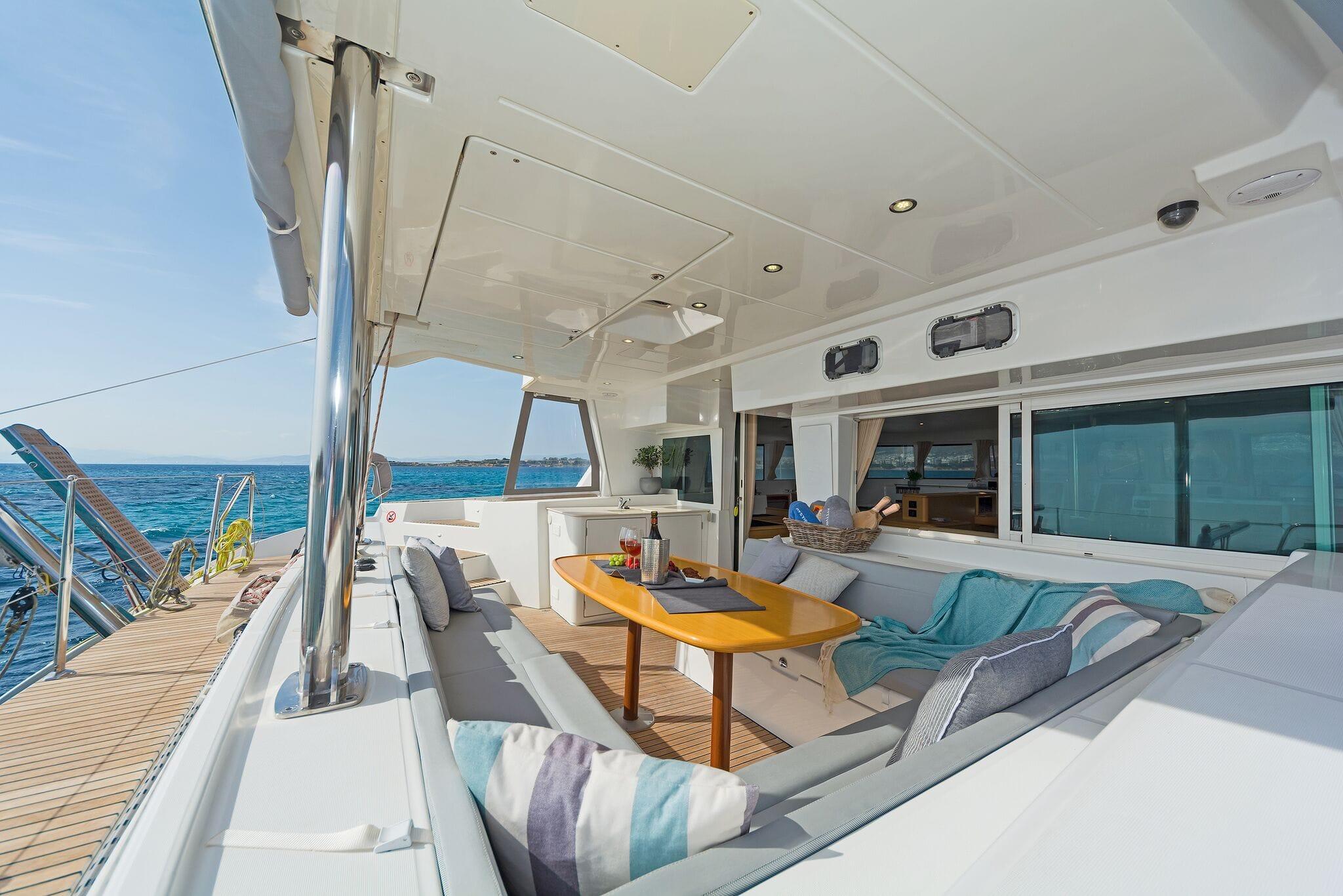 mystique catamaran  deck (4) min -  Valef Yachts Chartering - 1884