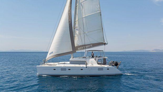 mystique catamaran  profile (1) min -  Valef Yachts Chartering - 1879